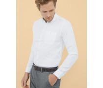 Hemd aus Baumwollpopelin