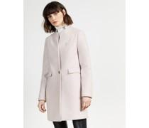 Straight Tailored Coat