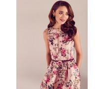 Blossom Jacquard-Kleid mit weitem Rock