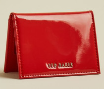 Patent Front Leather Cardholder