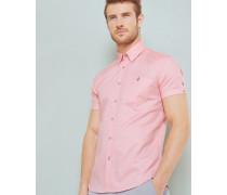 Hemd aus Baumwoll-Chambray