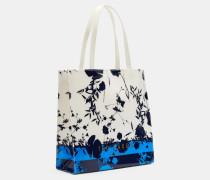 Groβe Icon-Tasche mit Bluebell-Print