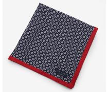 Einstecktuch mit geometrischem Mikro-Print