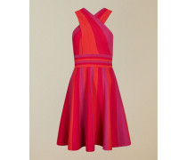 Cross Over Knitted Skater Dress