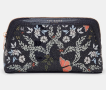 Make-up-Tasche mit Kyoto Gardens-Print