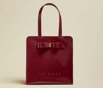Kleine Icon-Tasche mit Schleife