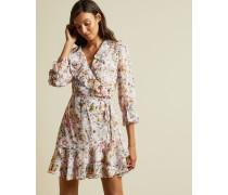 Jasmine Ruffle Wrap Dress