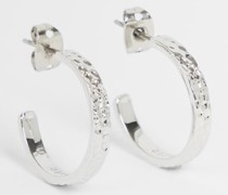 Tbj2698 Hammered Small Hoop Earring