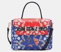 Nietenbesetzte Tasche Mit Kyoto Gardens-print