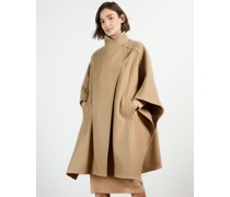 Relaxed Cape Coat