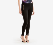 Leggings mit Zip-Detail