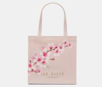 Kleine Icon-tasche Mit Soft Blossom-print