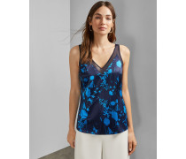 Cami-Top mit Bluebell-Print