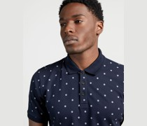 Dot Printed Polo