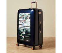 Großer Koffer mit Pergola-Print
