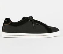 Textured Suede Sneakers