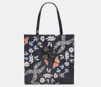 Große Icon-tasche Mit Kyoto Gardens-print