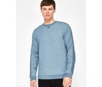 Sweatshirt Mit Strickeinsatz