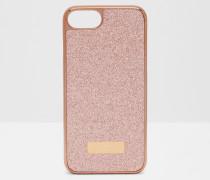iPhone 6/6S/7-Hülle im Glitzer-Design