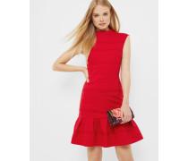 Kleid mit Faltenstruktur