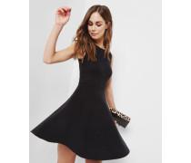 Gestricktes Skater-Kleid mit Jacquardmuster