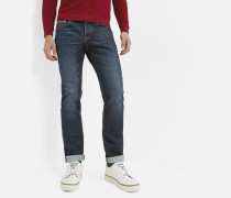 Selvedge-Jeans im Straight-Fit