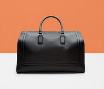 Leder-Reisetasche mit Reliefeffekt