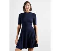 Stitch Detail Skater Dress