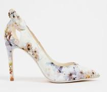 Vanilla High Heel Court Shoe