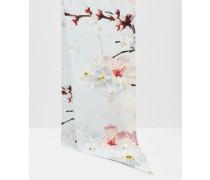 Schmaler Schal mit Oriental Blossom-Print