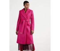 Long Collared Wool Coat