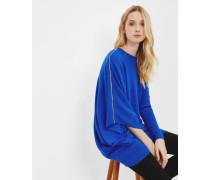 Asymmetrischer Pullover aus Kaschmir-Mix