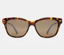 Große Sonnenbrille Mit Schleifendetail