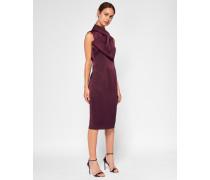 Kleid Mit Oversized-schleife Am Ausschnitt
