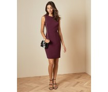Stitch Detail Fitted Dress
