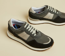 Leather Tonal Trainers