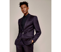 Pashion Jacquard Wool Suit Jacket