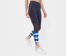 Leggings mit Marina Mosaic-Print