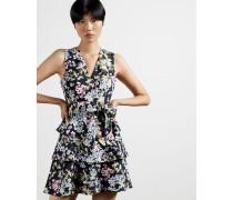 Jasmine Tiered V-Neck Mini Dress