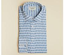 Endurance Hemd aus Baumwolle mit Federprint