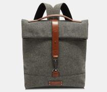 Wool Roll-down Backpack