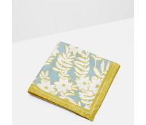 Großes Einstecktuch mit floralem Print