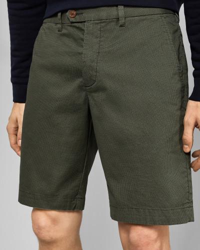 Bedruckte Chino-Shorts