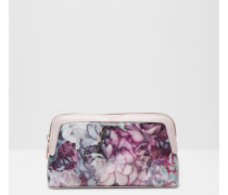 Kosmetiktasche mit Illuminated Bloom-Print