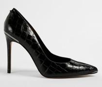 Imitation Croc High Court Shoe