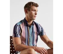 Lyocell Striped Shirt