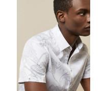 Hemd aus Baumwolle mit Print