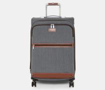 Mittelgroßer Koffer Mit 4 Rollen