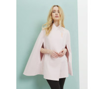 Wool wrap over cape