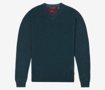 Deluxe cashmere V-neck jumper